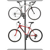 DISPLAY STAND 頂天立地高級合金自行車停車塔(時尚黑)