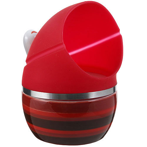 《PREPARA》pop 大口收納罐(紅)