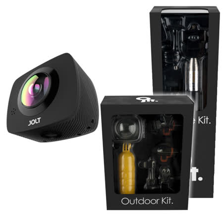 GIGABYTE 技嘉 JOLT DUO 360度全景雙眼運動攝影機(戶外+生活組)