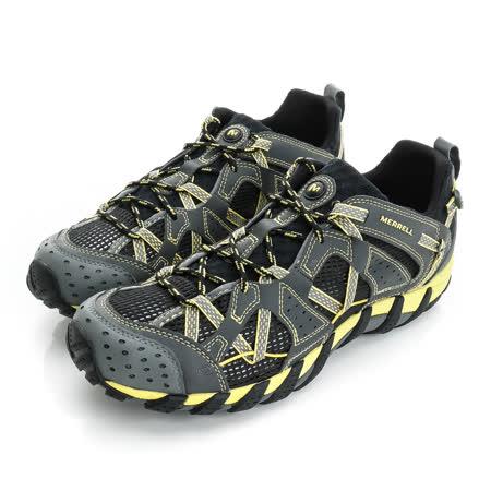 Merrell 男鞋 溯溪鞋 黑黃 WATERPRO MAIPO - ML37769