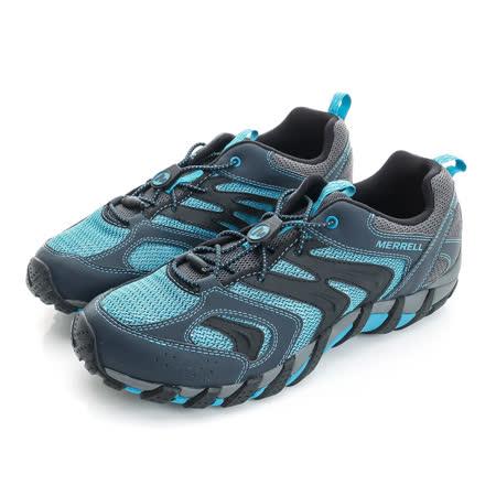 Merrell 男鞋 溯溪鞋 灰藍  WATERPRO GAULEY 2 - ML35265