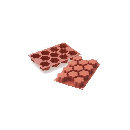 義大利進口《Silikomart》11連小花模/矽膠模/冰模/巧克力模/36.194.00.0060