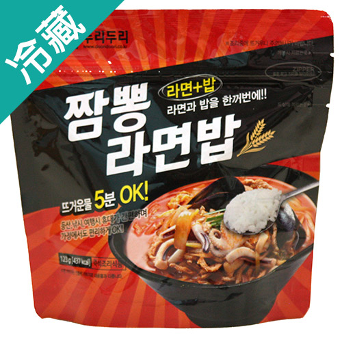 韓式海鮮風味泡麵泡飯123G包