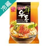 韓本故莊泡菜風味烏龍麵210G/包