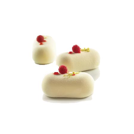 義大利進口《Silikomart》8連圓枕型冰淇淋模/矽膠模/冰模/巧克力模/36.165.99.0065