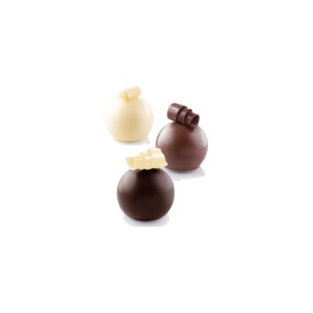 義大利進口《Silikomart》15連松露型模/矽膠模/冰模/巧克力模/36.172.87.0065