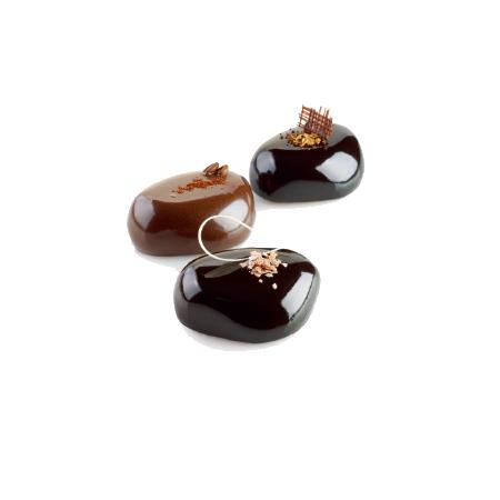 義大利進口《Silikomart》6連石頭模/矽膠模/冰模/巧克力模/36.193.99.0065