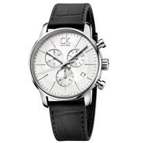 瑞士 Calvin Klein 時尚經典三眼皮格錶 (K2G271C6)