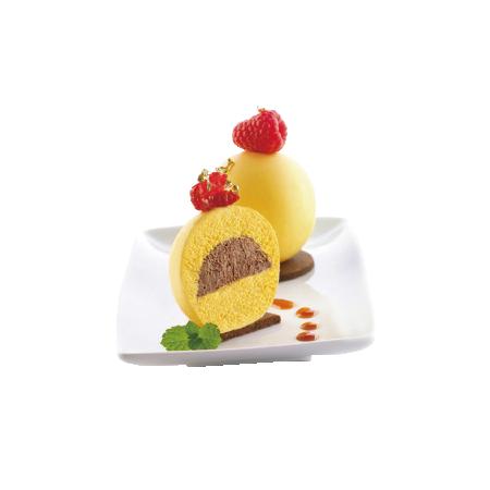 義大利進口《Silikomart》5連球型模/矽膠模/冰模/巧克力模/25.301.99.0065
