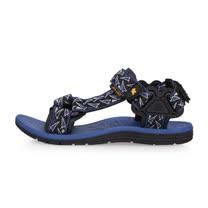 (男) SOFO 運動涼鞋-海邊 海灘 沙灘 戲水 藍黑