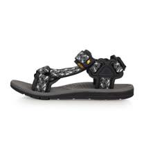 (男) SOFO 運動涼鞋-海邊 海灘 沙灘 戲水 灰黑