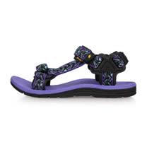 (女) SOFO 運動涼鞋-海邊 海灘 沙灘 戲水 紫黑