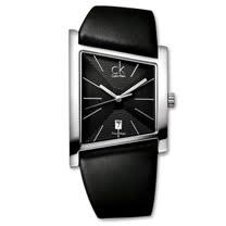 瑞士 Calvin Klein 梯形設計雅痞中性錶 (K0Q21107)