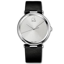 瑞士 Calvin Klein 時尚菱格紋中性錶 (K1S21120)
