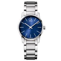 瑞士 Calvin Klein 時尚耀眼藍錶面女錶 (K2G2314N)