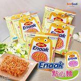 黃粒紅 韓國ENAAK點心麵 (16g/12包)/盒*6盒組