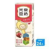 光泉草莓豆奶200ml*24