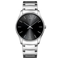 瑞士 Calvin Klein 簡約經典鋼帶女錶 K4D21141