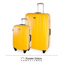 《Traveler Station》CROWN C-F1140 STRENGTH拉桿箱19吋+29吋套組 三色可選