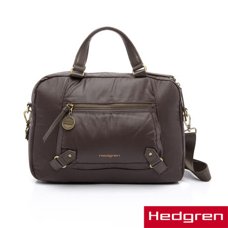 "Hedgren 13""電腦公事包-暗棕色"