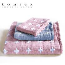 【クロワッサン科羅沙】日本今治~Kontex 敏感肌十字紋毛巾 32*80cm