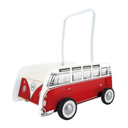 德國Hape愛傑卡-福斯旅行車手推車-紅