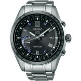 SEIKO 精工 ASTRON GPS 限量鈦時尚萬年曆太陽能腕錶8X22-0AH0D(SSE117J1)