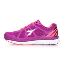 (女) DIADORA 慢跑鞋 -路跑 紫粉橘