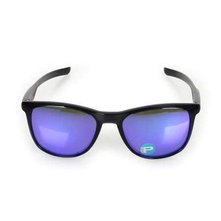 OAKLEY TRILLBE X POL  - 附鏡袋無鼻墊 抗UV 太陽眼鏡 黑紫 F