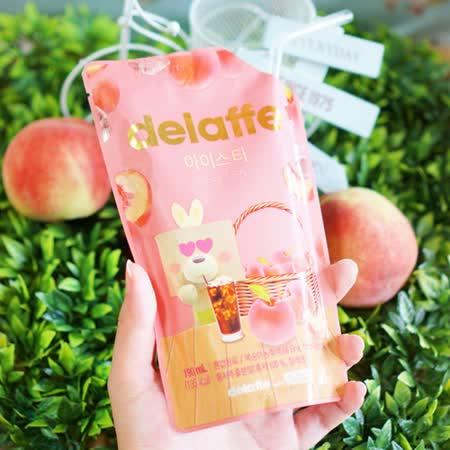 【Delaffe】xHEYROO FRIENDS聯名款-水蜜桃冰茶