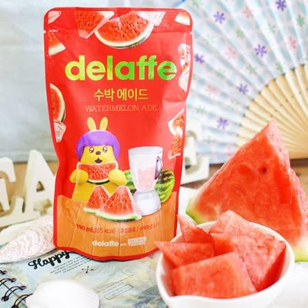 【Delaffe】xHEYROO FRIENDS聯名款-西瓜汁190ML