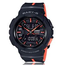 CASIO 卡西歐 BABY-G 跑步首選時尚雙色錶帶設計 BGA-240L-1A
