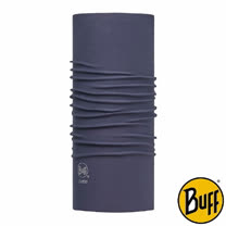 BUFF 素面月蝕藍 COOLMAX抗UV頭巾