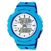 CASIO 卡西歐 BABY-G 跑步首選時尚雙色錶帶設計 BGA-240L-2A2