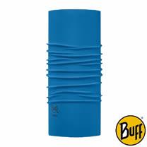 BUFF 素面法式藍 COOLMAX抗UV頭巾