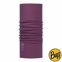 BUFF 素面深紫 COOLMAX抗UV驅蟲頭巾
