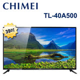 【促銷】CHIMEI奇美 39吋低藍光LED液晶顯示器+視訊盒(TL-40A500) 含運送