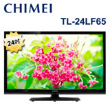 【促銷】CHIMEI 奇美24吋LED液晶顯示器+視訊盒(TL-24LF65) 含運送
