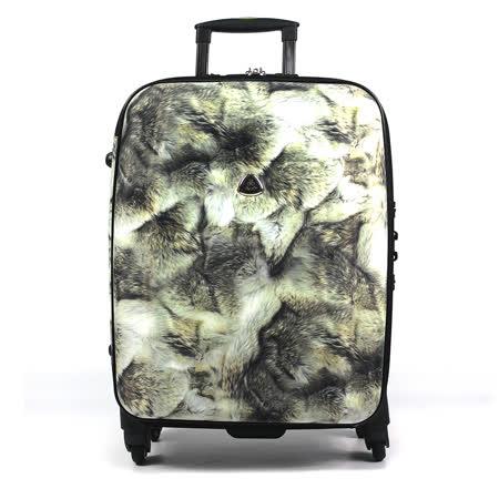 【促銷品】Audi 奧迪 - 25吋 - 貴氣設計豹紋行李箱五色可選A-168-25