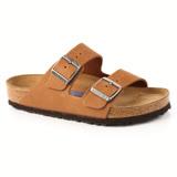 勃肯BIRKENSTOCK 1000621。ARIZONA亞利桑那 經典二條拖鞋(棕色)