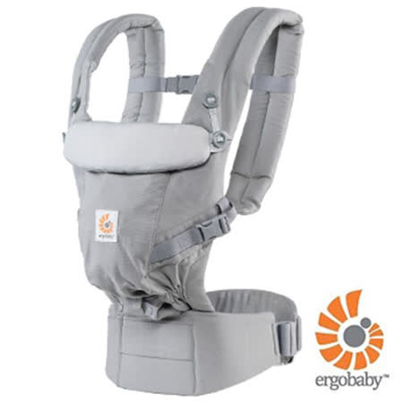 ERGObaby全階段式嬰兒揹帶 - 灰色