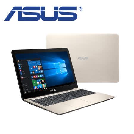 ASUS X556UR 15.6吋 FHD/i5-6200U/4GB/1TB/2G獨顯/WIN10/兩年保固 超值筆電(金)-送無線光學滑鼠/LED小夜燈