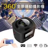 全景VR360度運動攝影機