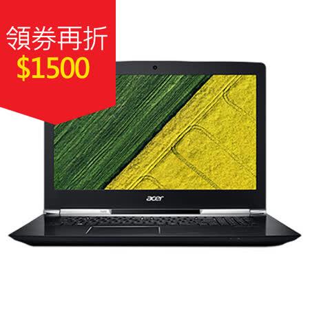 Acer 宏碁 VN7-593G-71D3 15吋IPS/I7-7700HQ/8GB/256G SSD+1TB/GTX1060電競機種送ACER無線鼠/清潔組/鍵盤膜/滑鼠墊/美型耳麥/64GB隨身碟