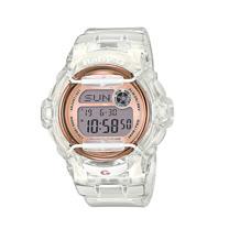CASIO 卡西歐 BABY-G 半透明設計潮流雙顯運動女錶 BG-169G-7BDR