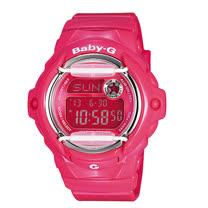 CASIO 卡西歐 BABY-G 活力豔彩潮流雙顯運動女錶 BG-169R-4BDR