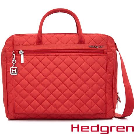 Hedgren 公事包-紅色