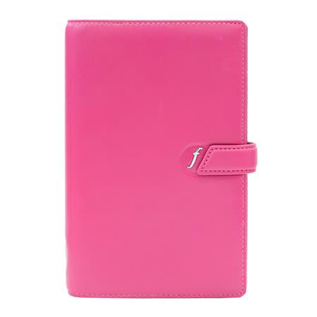 FILOFAX BOSTON波世頓系列 薄型萬用手冊(中)-粉紅