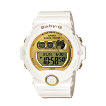 CASIO 卡西歐 BABY-G 魅力金屬光澤防水雙顯運動女錶 BG-6901-7DR