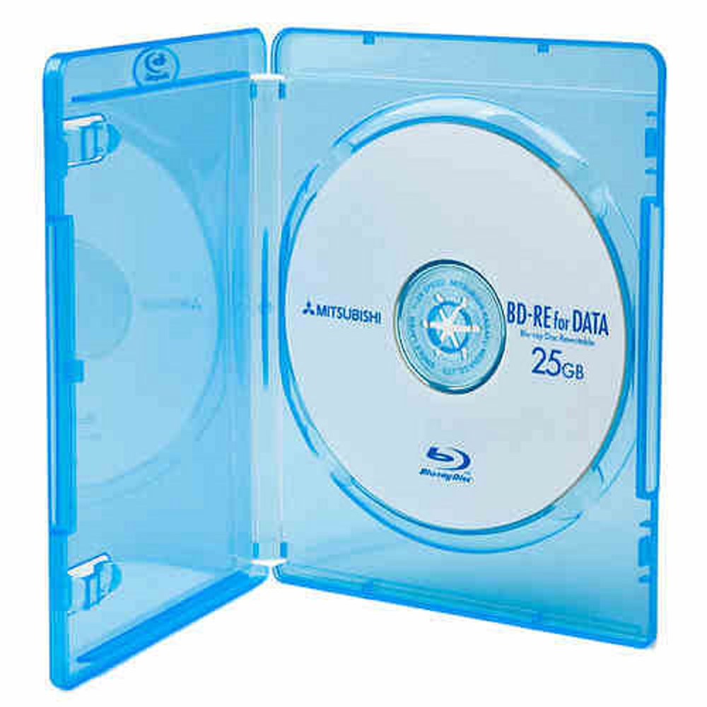 DigiStone 藍光DVD Logo燙銀單片精裝軟盒 25片